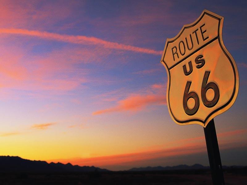 voyage en moto historique route 66
