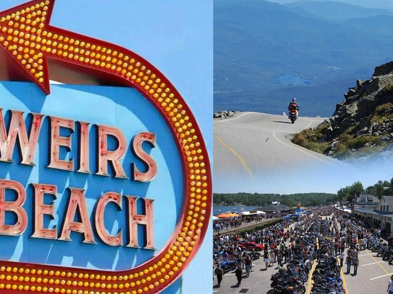 Voyage en moto : Laconia Bike Week