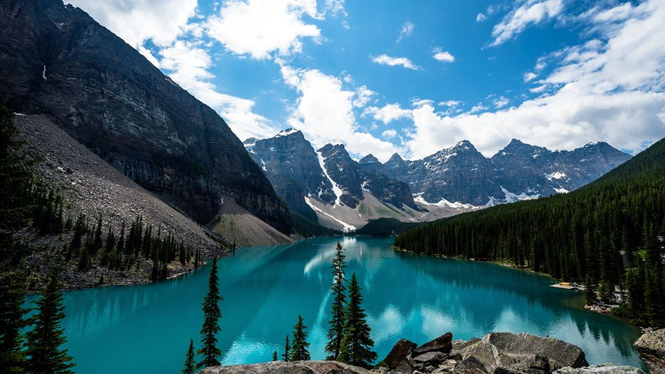 LES BEAUTÉS DE L'OUEST CANADIEN ET YELLOWSTONE